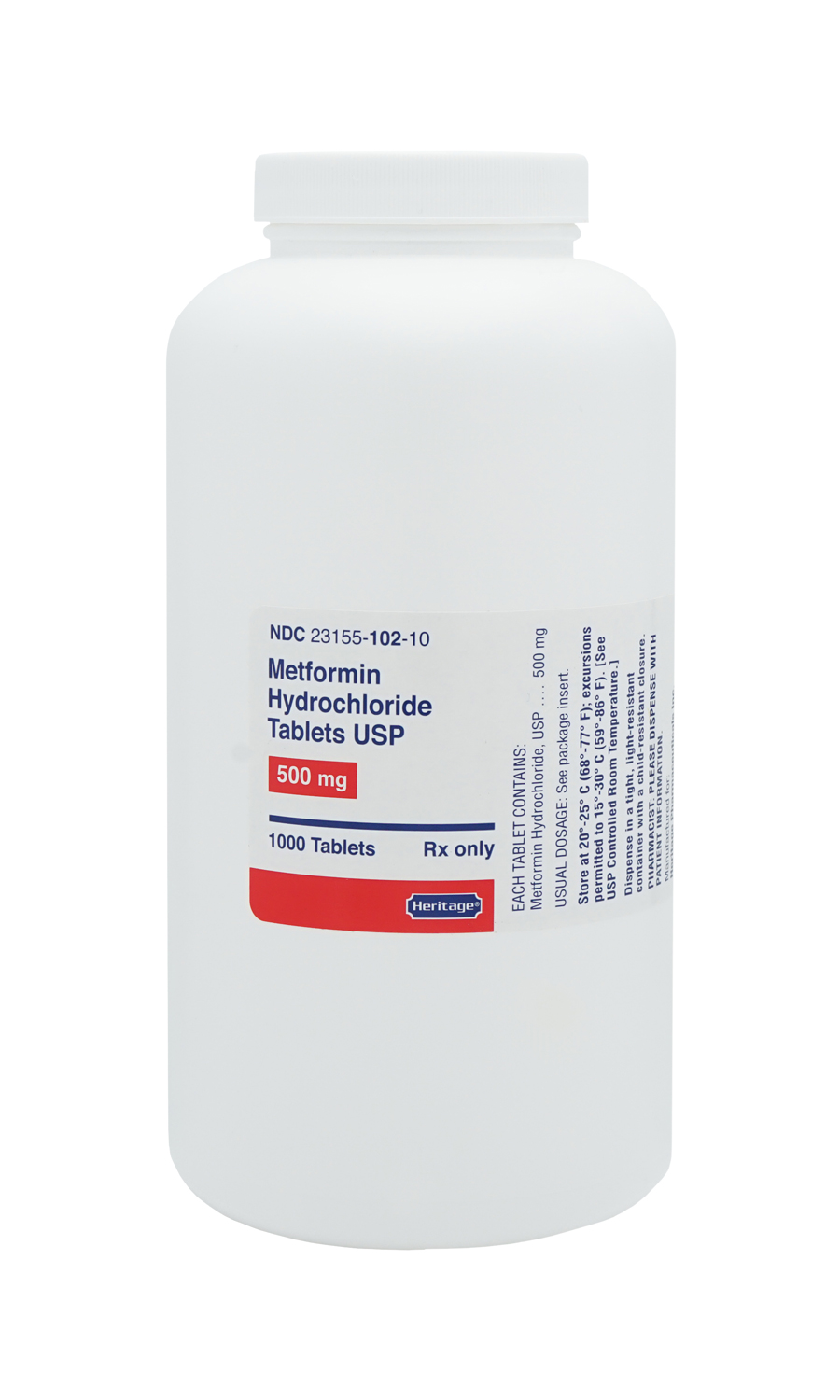 what is the generic name for metformin