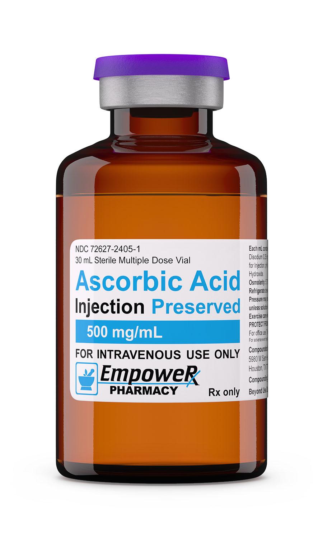 Ascorbic Acid Vitamin C Injection Empower Pharmacy
