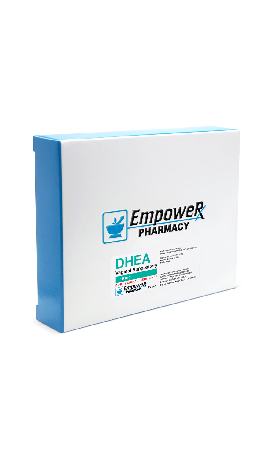 DHEA Vaginal Suppository 10 mg