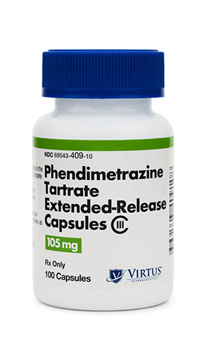Phendimetrazine Tartrate 105 mg Extended Release Capsules