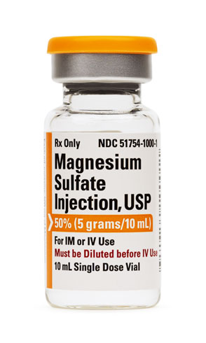 Magnesium Sulfate Injection