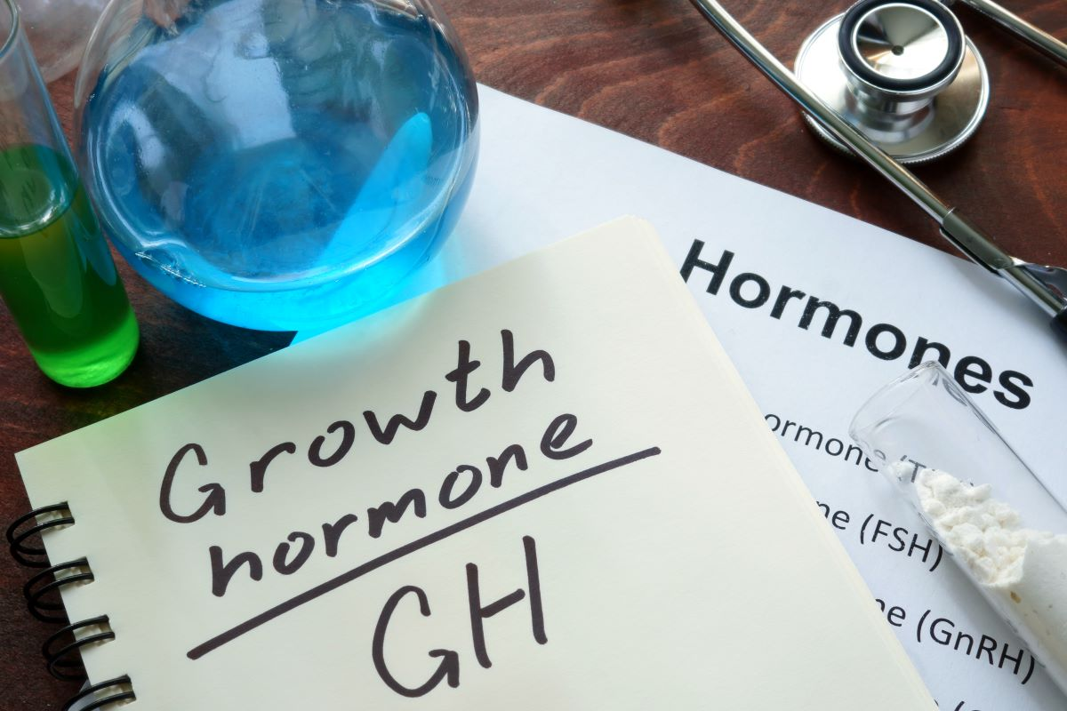 Growth Hormone on Notepad